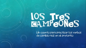 lostrescampeones ppt screenshot