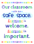 Our classroom is a safe place