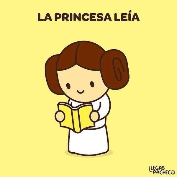 la princesa leía imperfecto