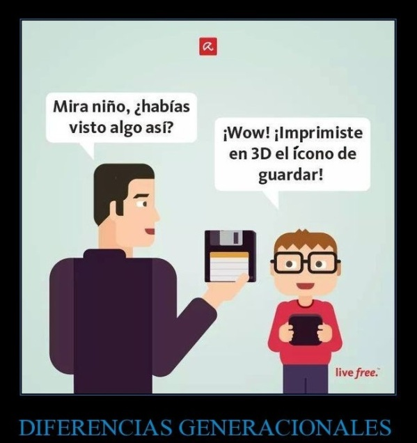 floppy joke_diferencias_generacionales