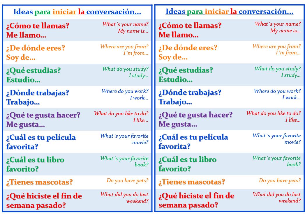 Pdf Spanish Conversation For Beginners
