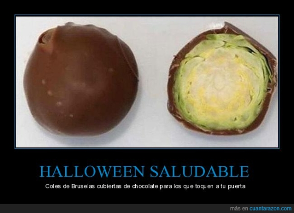 Halloween saludable. para. subjuntivo