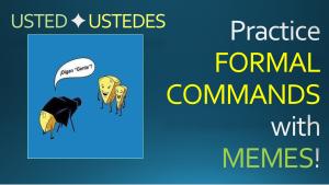 Formal Commands THUMBNAIL